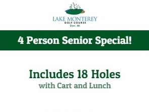 18 hole senior special
